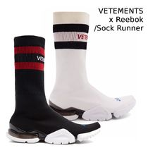 限定! VETEMENTS x Reebok/SOCK RUNNER レディース