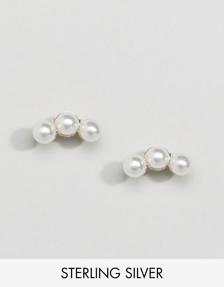 ◎送料込み◎Kingsley Ryan Pearl Ear Climber Earrings