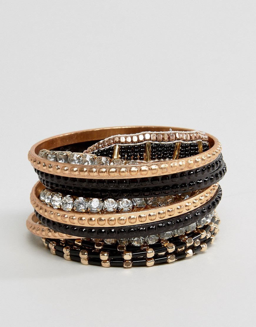 ◎送料込み◎Liars & Lovers Mega Rhinestone Bangle Pack