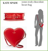 【Kate spade】yours truly chocolate heart bag ♡