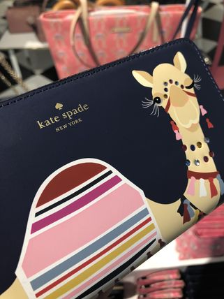 kate spade new york 長財布 【即発◆3-5日着】kate spade◆Spice Things Up★Camel Neda(3)