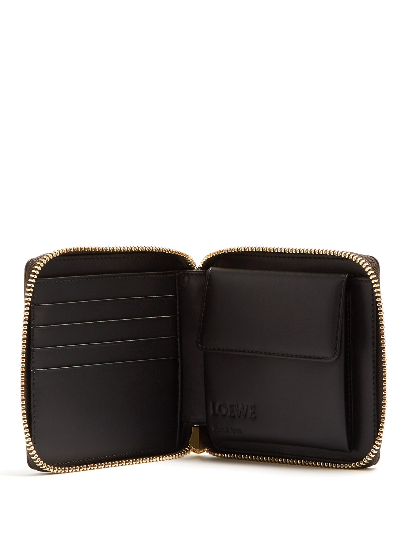 ★LOEWE★Puzzle zip around Small Wallet