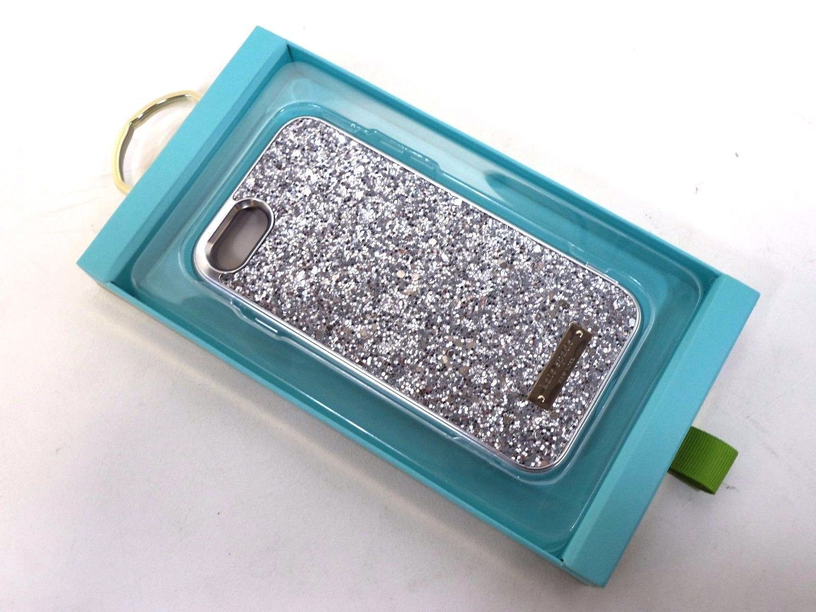 Kate Spade NY Glitter Case  iPhone 7 8 - Silver