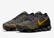 Men's Nike Air VaporMax Flyknit Black And Yellow