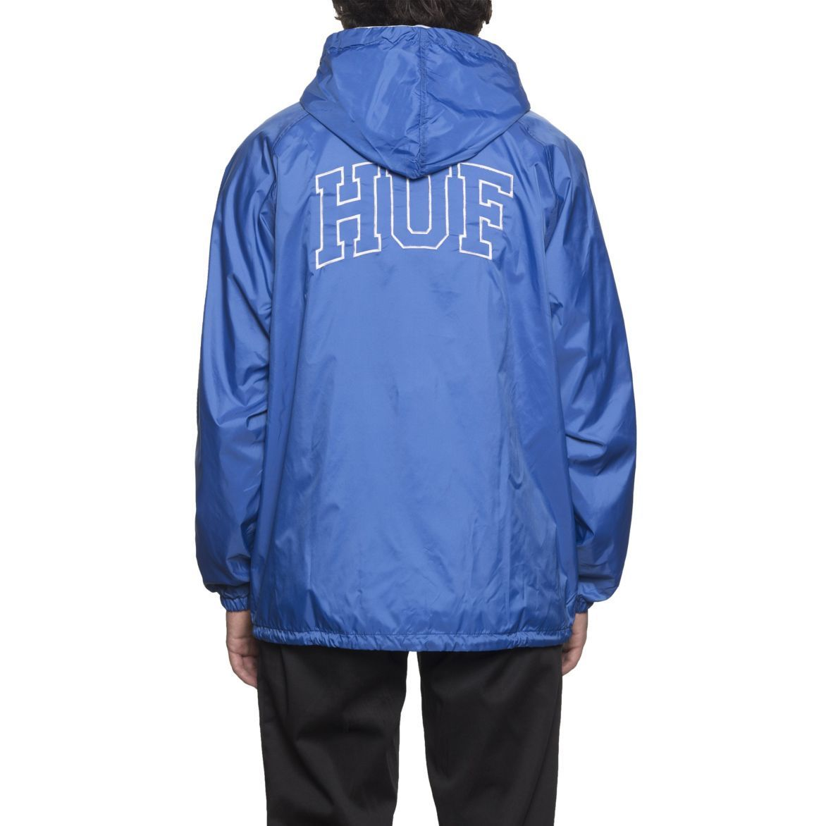 HUF ハフARCH BLOCK HOODED COACHES JACKET