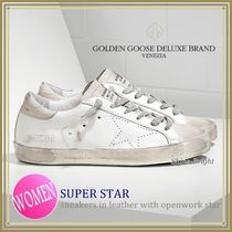 《関税込》GOLDEN GOOSE★SUPER STAR OpenWorkStarホワイト