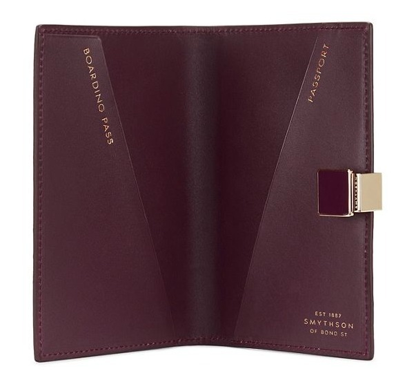 【SMYTHSON】Mara leather パスポートカバー