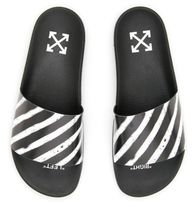 Off-White Spray Rubber Slides