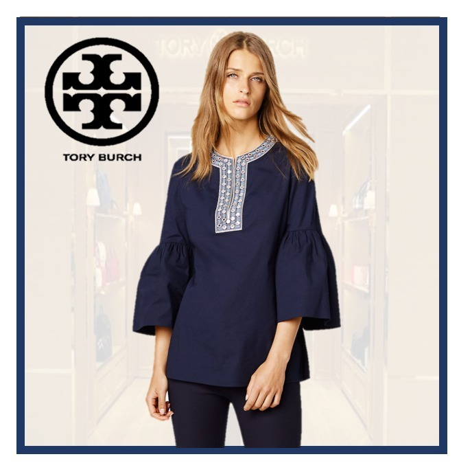 TORY BURCH ARIANA TUNIC