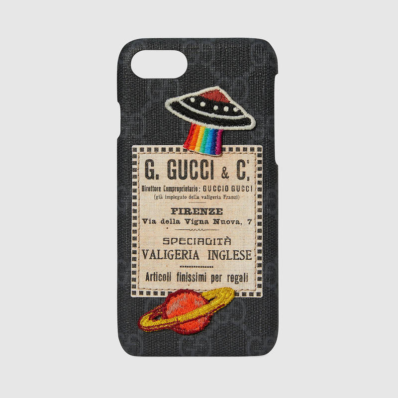GUCCIグッチNight Courrierナイトクーリエ iPhone7ケース 7x14cm