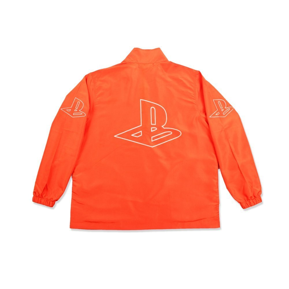 Pretty Boy Gear half zip jacket (orange)