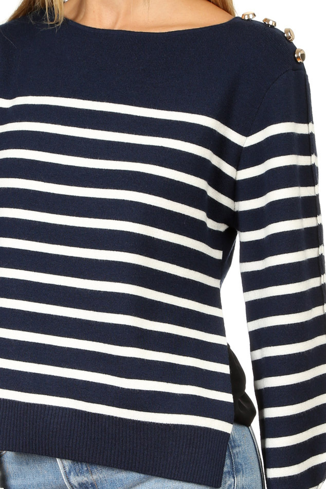 "SALE""3.1 PHILLIP LIM""SAILOR PULLOVER WITH セーター 関税込"