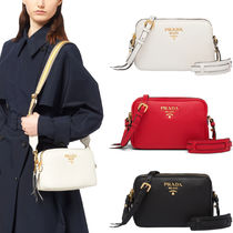 PR983 DAINO 2-ZIP SHOULDER BAG