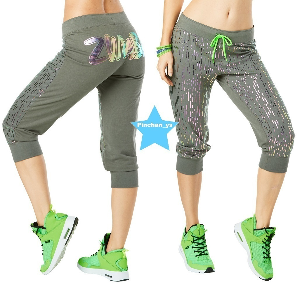 専用☆H29.12【ZUMBA】Lost In The Music Capri Pants Z1B00687