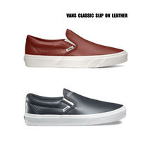 VANS★CLASSIC SLIP ON LEATHER★本革★25.5~29cm★2色