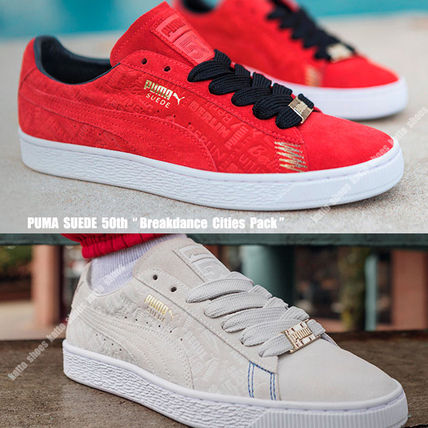 23160e8a4 PUMA スニーカー PUMA☆50周年☆SUEDE BREAKDANCE CITIES PACK☆スエード☆4色 ...