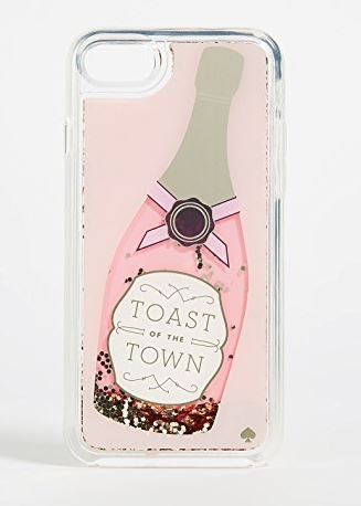 【ケイトスペード】Champagne Glitter iPhone 7/8 Case