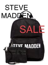 ●STEVE MADDEN●残1●Placement Print Nylon Backpack