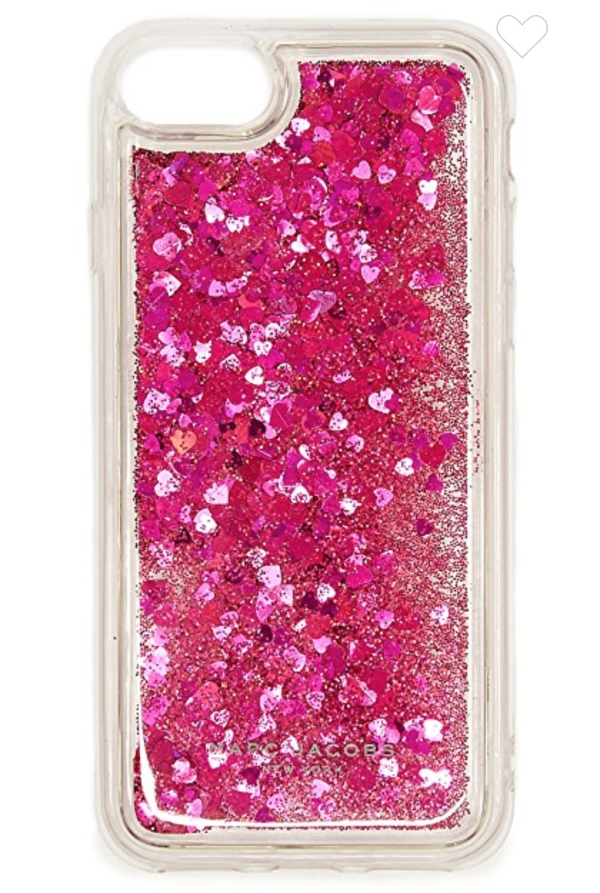 NEW国内発送MARC JACOBS*Floating Glitter iPhone 7  8 ケース