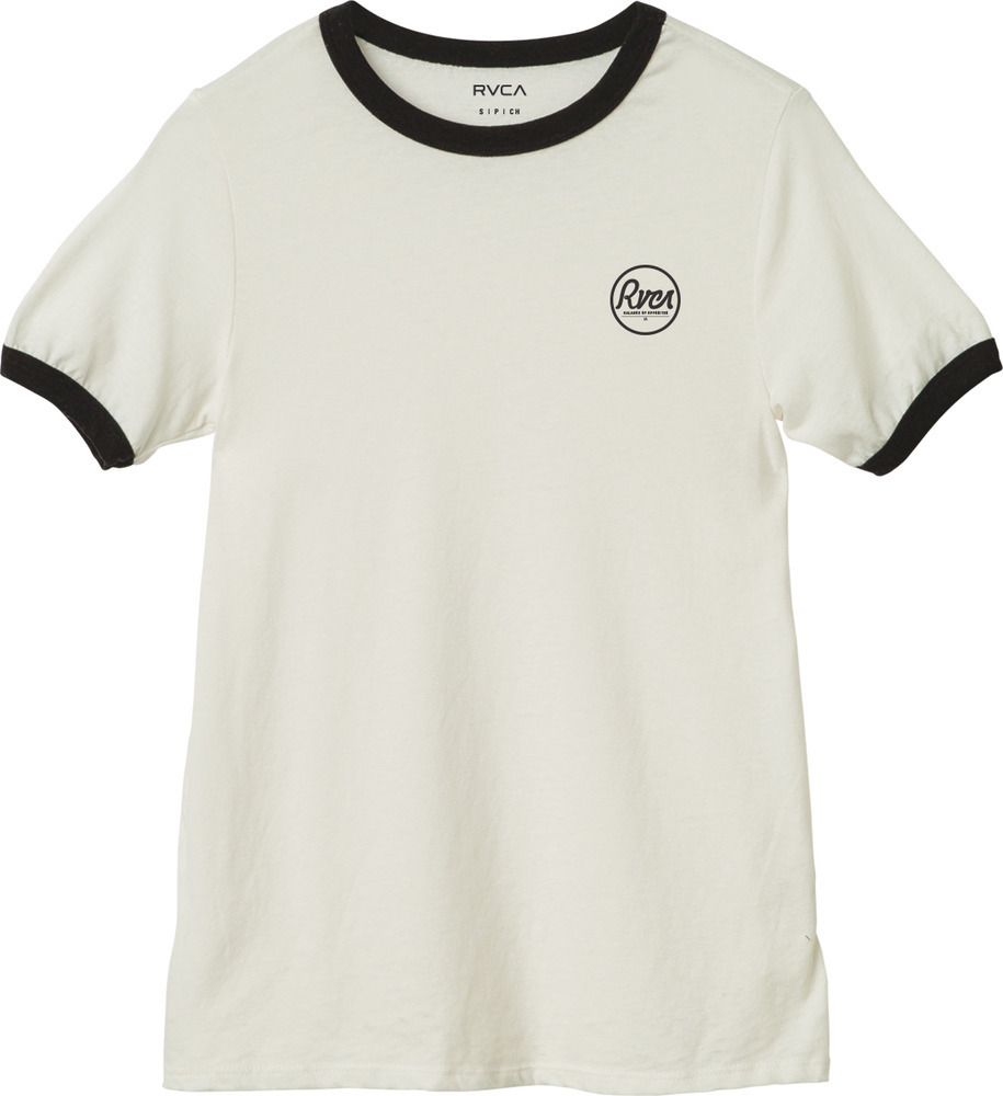 ☆日本未入荷☆ RVCA/最新作 CIRCLE BURNOUT RINGER T-SHIRT