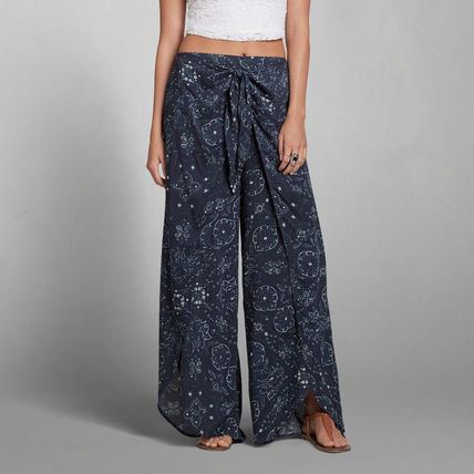 キュートなTTERN WIDE LEG PANTS