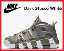 レアカラー!国内発送 Nike Air More Uptempo Dark Stucco White