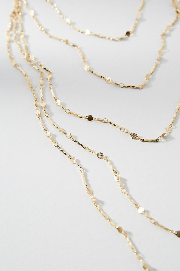 VIP SALE!国内発送☆Anthropologie レイヤードネックレス