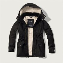 A&F All-Season Sherpa Weather Warrior Parka