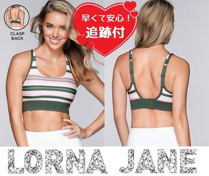 Lorna Jane フィットネストップス ★追跡有【Lorna Jane】Compress & Compact Sports Bra★