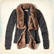 ホリスター Woodson Mountain Faux Fur-Trimmed Sweatshir