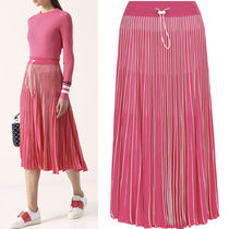 18SS V962 PLEATED JERSEY SKIRT