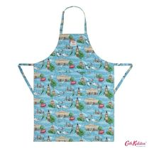 Cath Kidston★ DISNEY APRON PETER PAN IN LONDON TURQUOISE