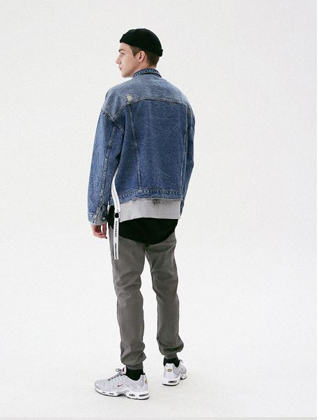 日本未入荷MASSNOUNのSLENDER FATIGUE BANDING JOGGER 全2色