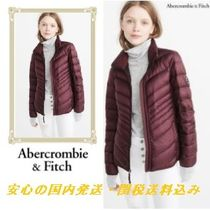 Abercrombie & Fitch レッド パファージャケット♪