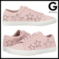 G by Guess レザー スニーカー Mollie ピンク 星