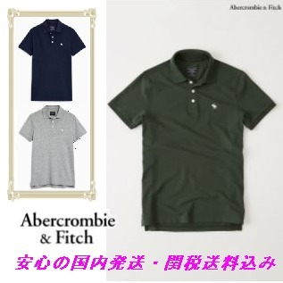 Abercrombie & Fitch クラシックポロ♪