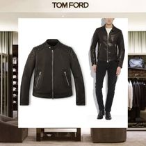 【18SS NEW】 TOM FORD_men /QUILTED LEATHERバイカージャケット