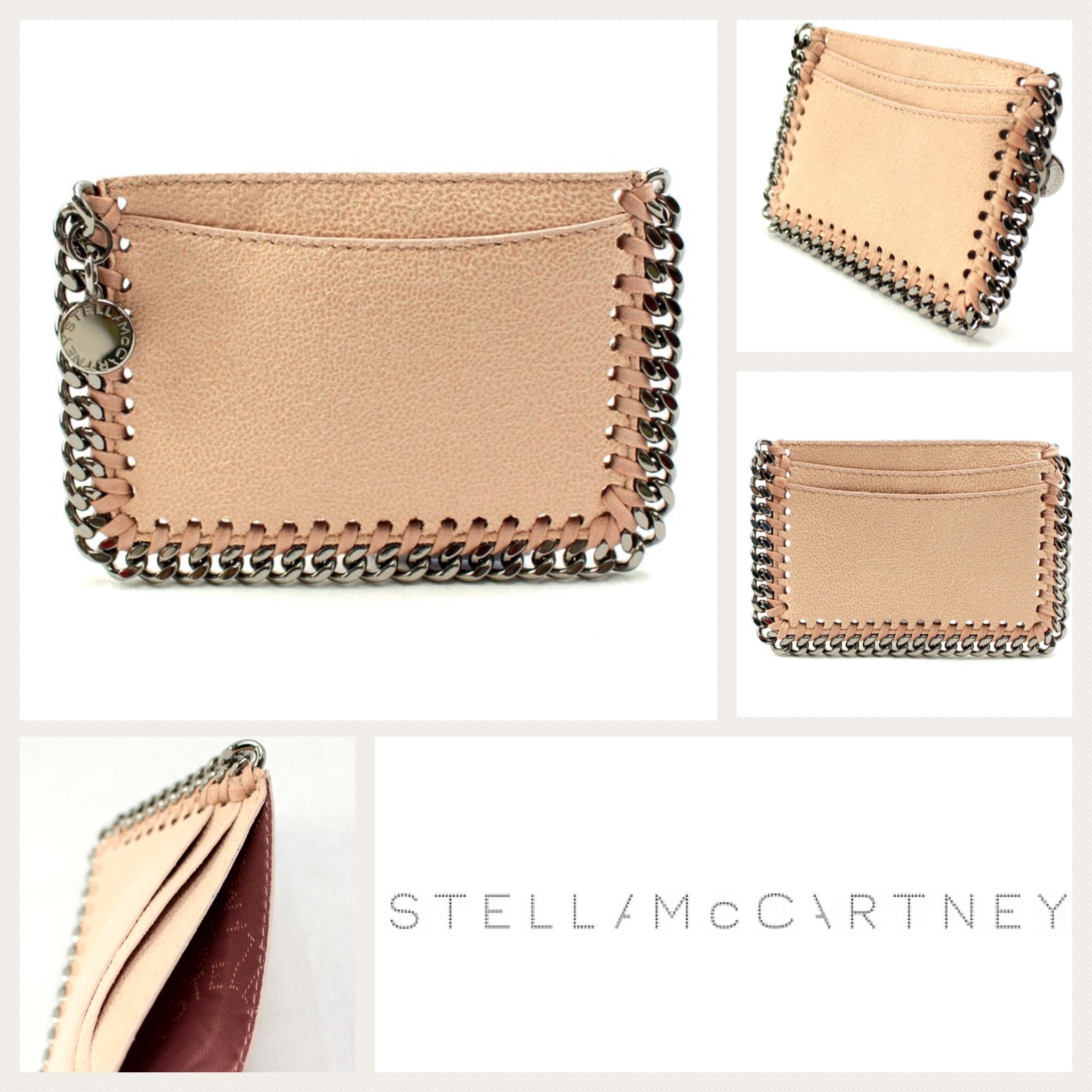 希少 Stella McCartney  371371w9132 6082  CARD CASE 関税送込