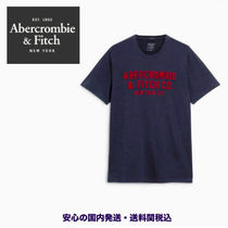 Abercrombie & Fitch アップリケロゴ Tシャツ♪