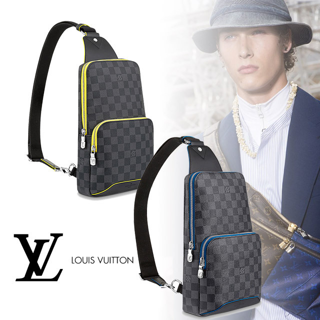 Louis Vuitton(ルイヴィトン) アヴェニュー・スリングバッグ2色