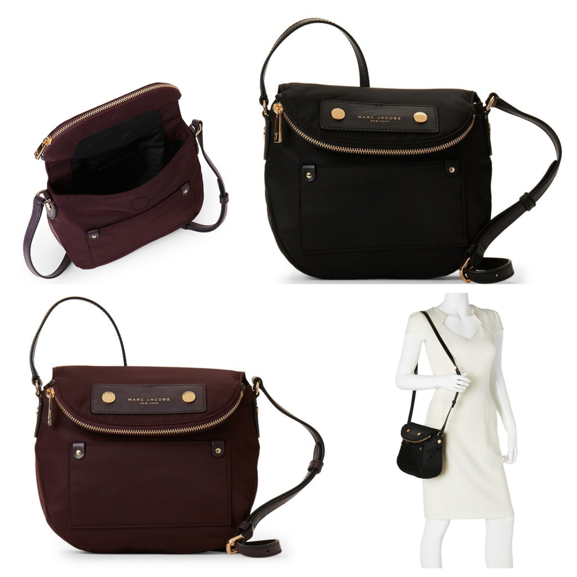 SALE★US発★MARC JACOBS★ミニナイロンクロスボディバッグ