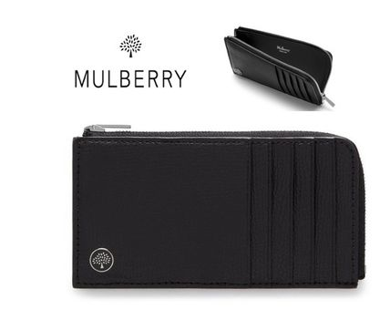 Mulberry カードケース・名刺入れ  NEW♪【Mulberry】Zip Around Card Holder with Tree Plaque