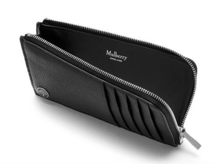 Mulberry カードケース・名刺入れ  NEW♪【Mulberry】Zip Around Card Holder with Tree Plaque(2)