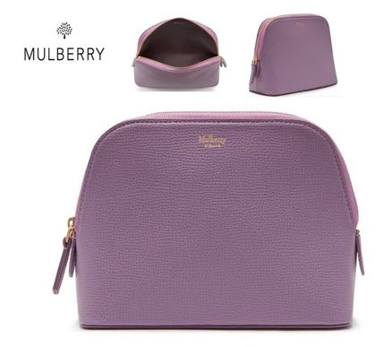 Mulberry メイクポーチ  NEW♪【Mulberry】Cosmetic Pouch