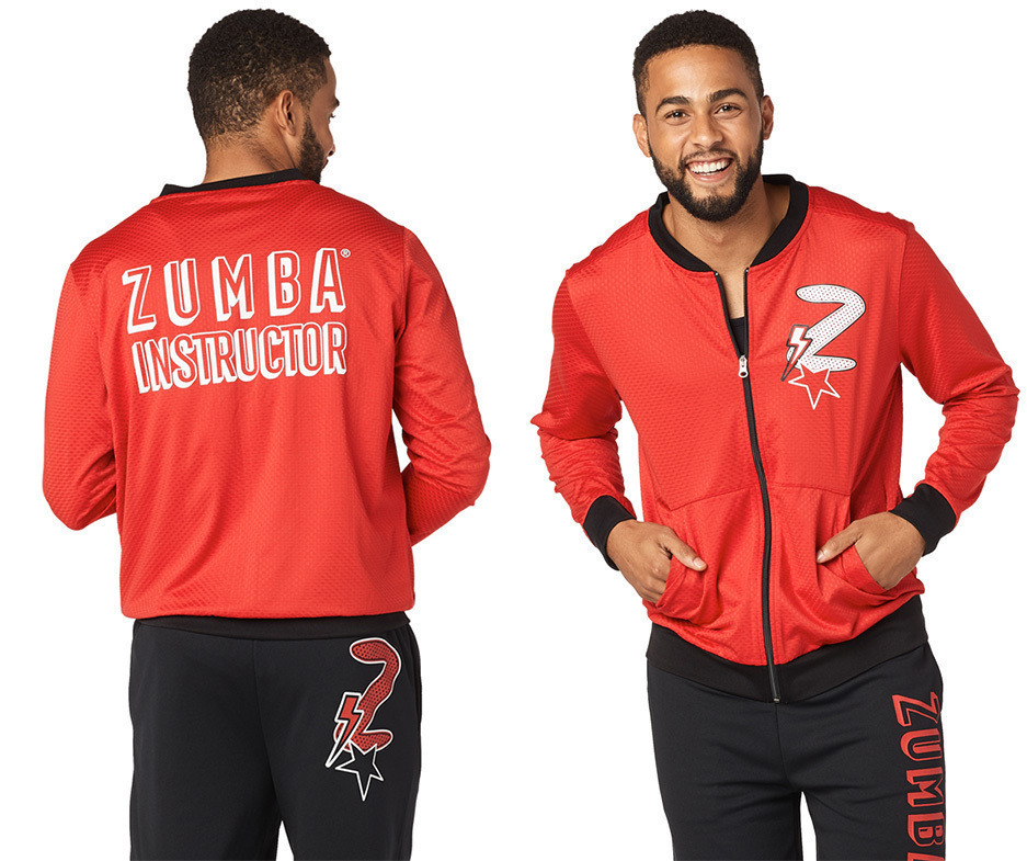 ◆1月新作◆ユニセックス◆Zumba Hero Instructor Zip-Up Jacket