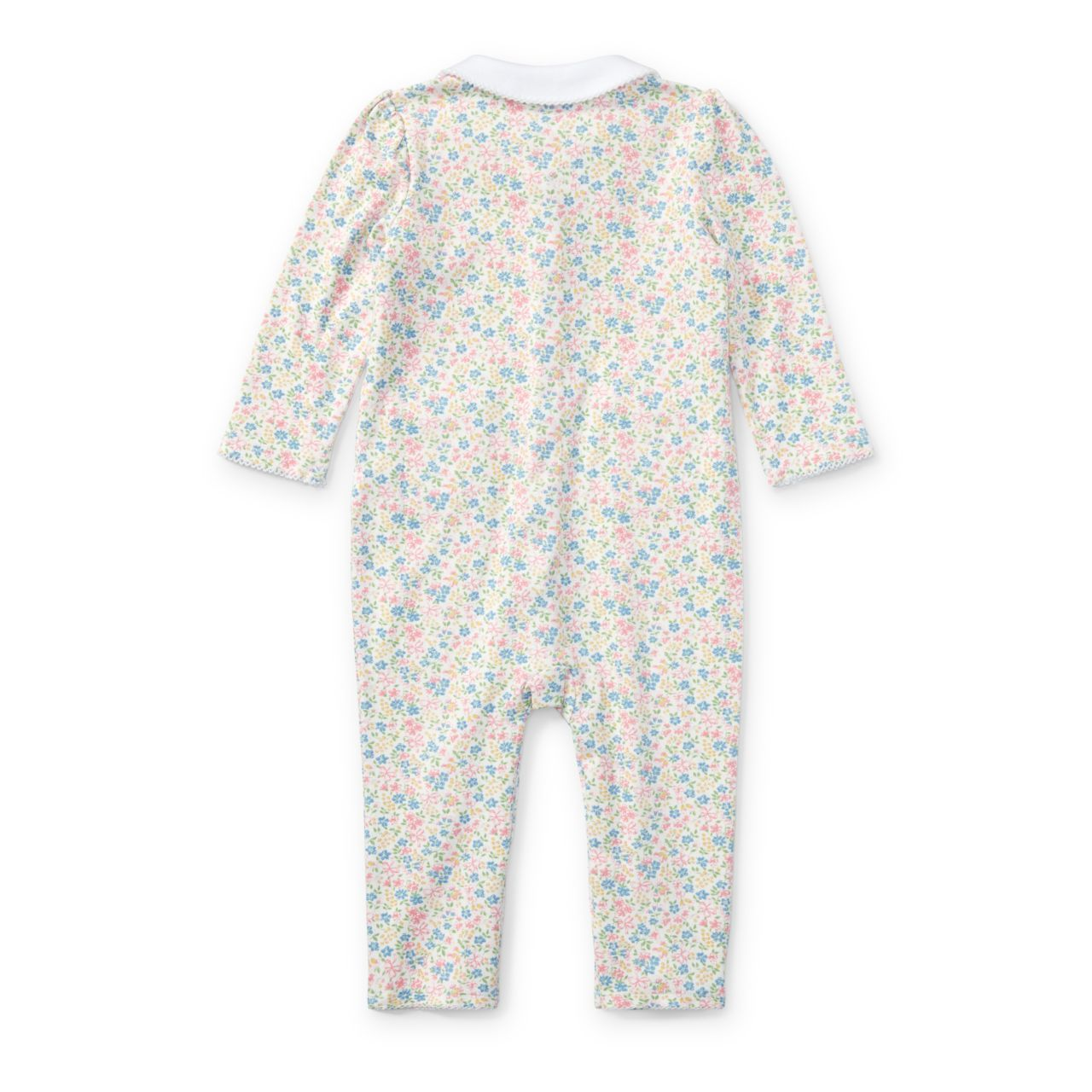◎送料込み◎Floral-Print Cotton Coverall