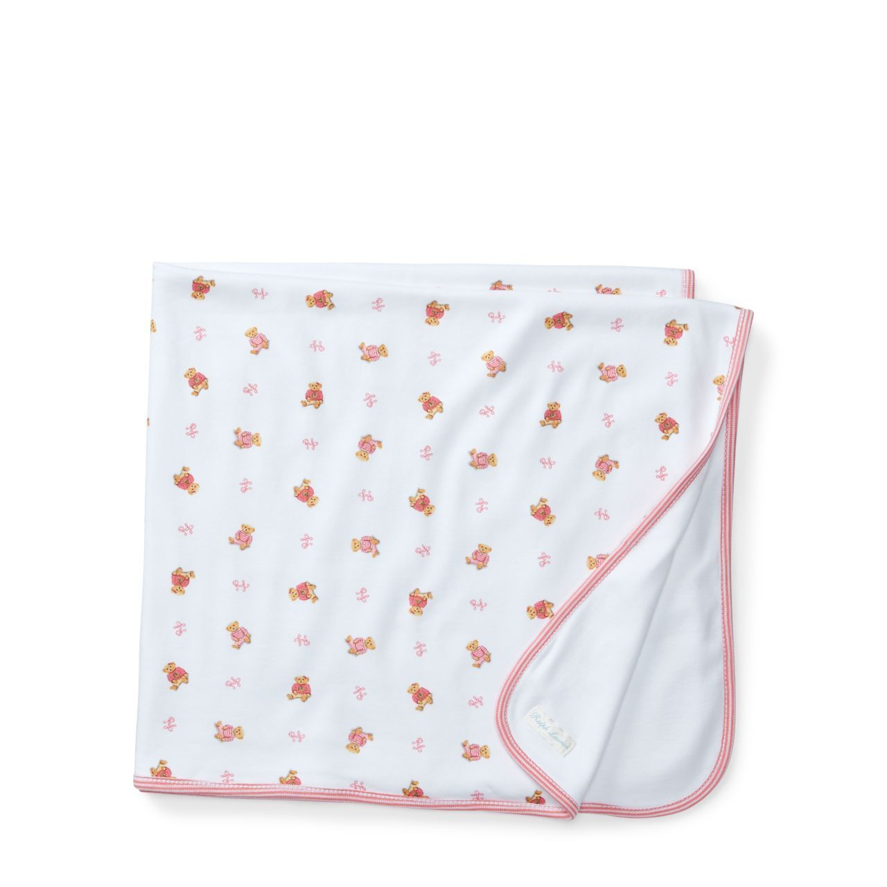 ◎送料込み◎Pink Bear Reversible Blanket