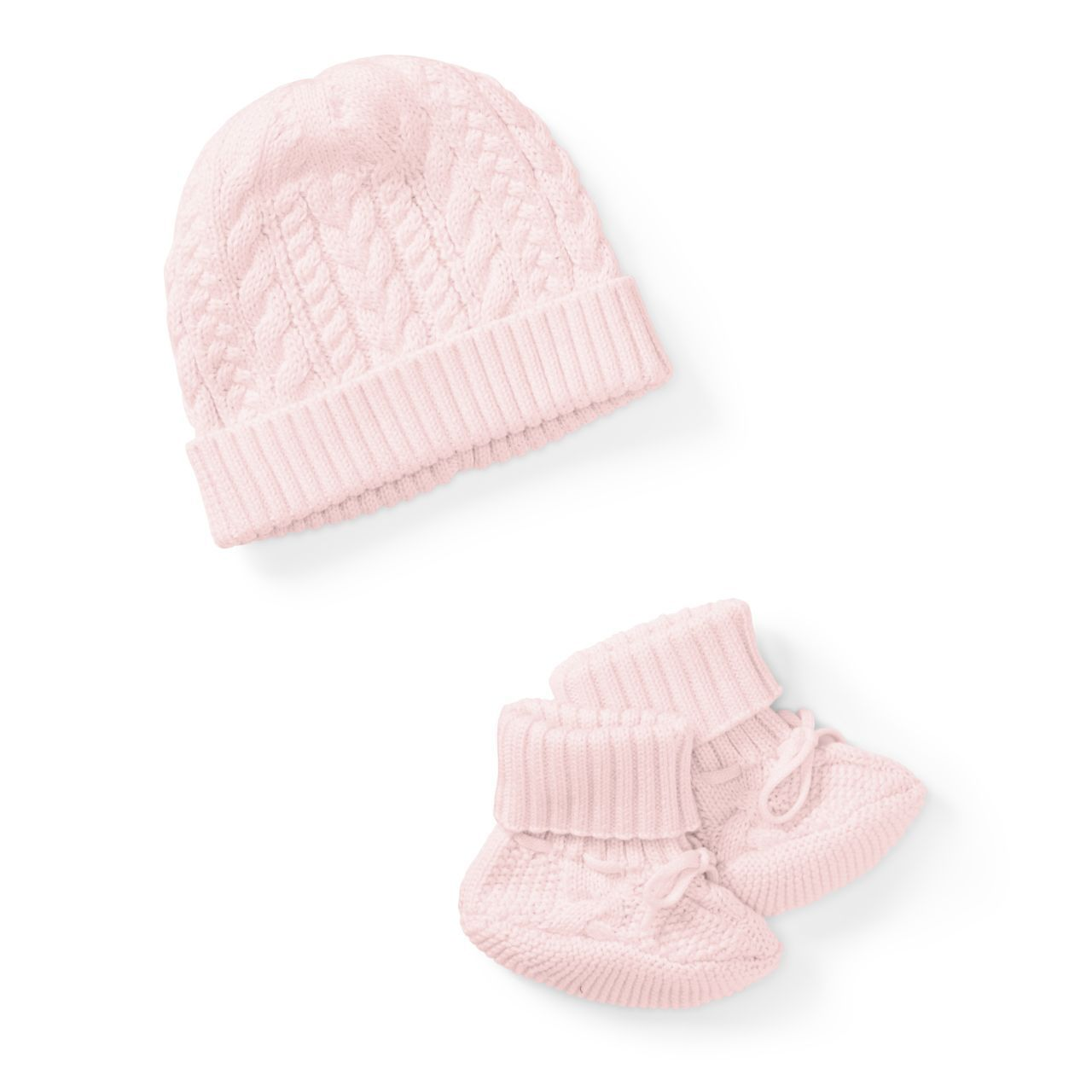◎送料込み◎Cotton Hat & Booties Set