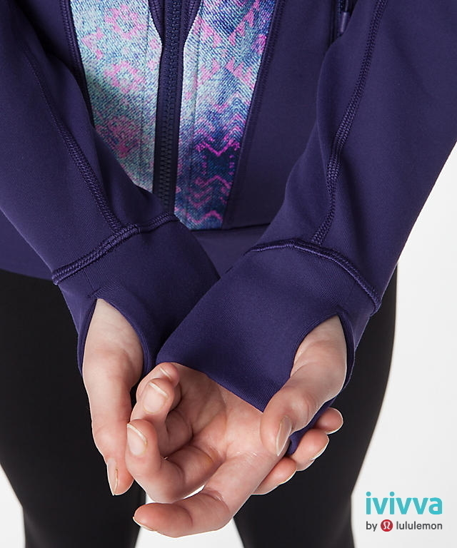 +++  Perfect Your Practice Jacket +++   Grand Grape