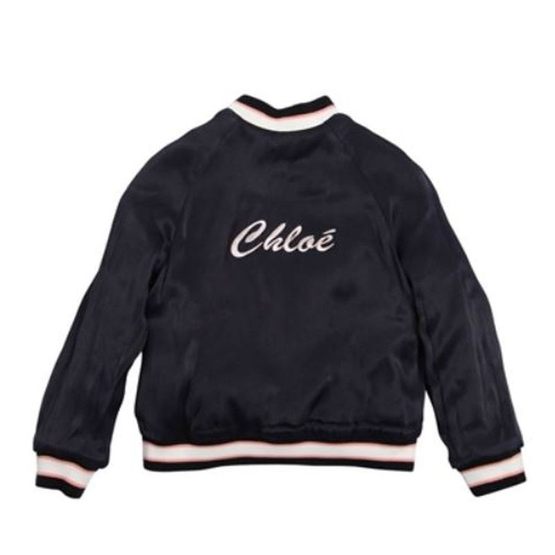 【関税/送料込】Chloe Reversible satin box jacket 大人もOK